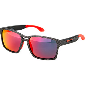 Rudy Project Spinair 57 Sonnenbrille carbonium - rp optics multilaser red